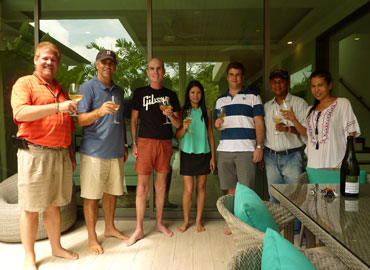 KA Villa Phuket - Welcome Mr. Craig Williomson and Family to The Ka Family