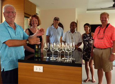 KA Villa Phuket - Welcome Mark and Laura Paul to the Ka Villa Family