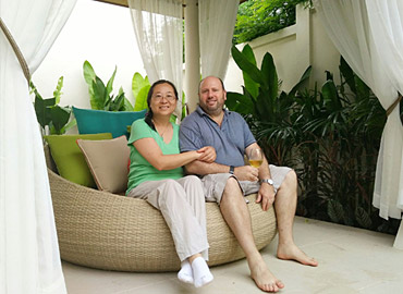 KA Villa Phuket - Welcome Eric Gregory Hirsch and Ms. Ruimin Zhao to the Ka Villa Family