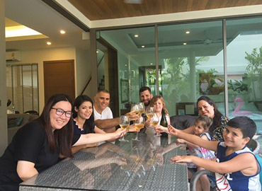 Welcome Gilad & Liana Grimberg and family to the KA Villa Family