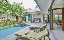 2 bed pool villa for rent rawai
